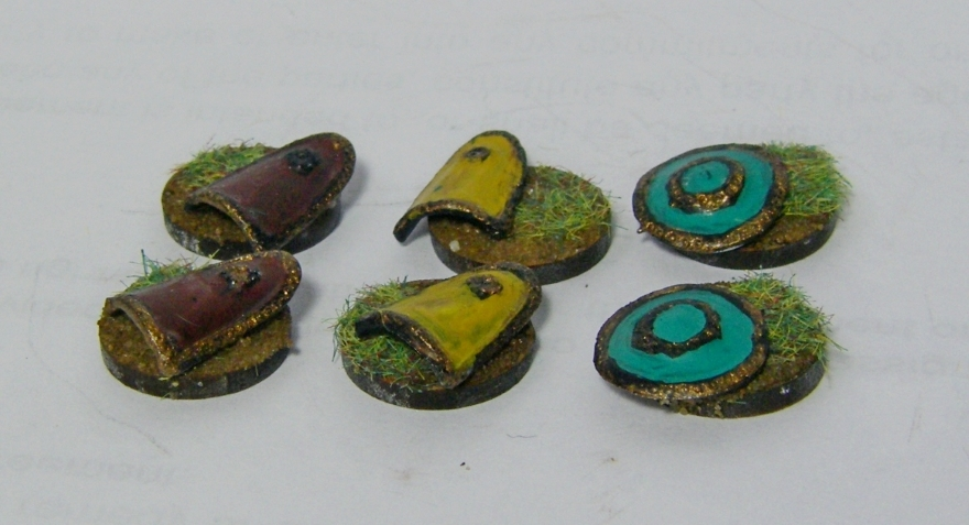 Biblical Era Photos of Magister Militum Assyrian Shields for L'Art de la Guerre 2018, 15mm