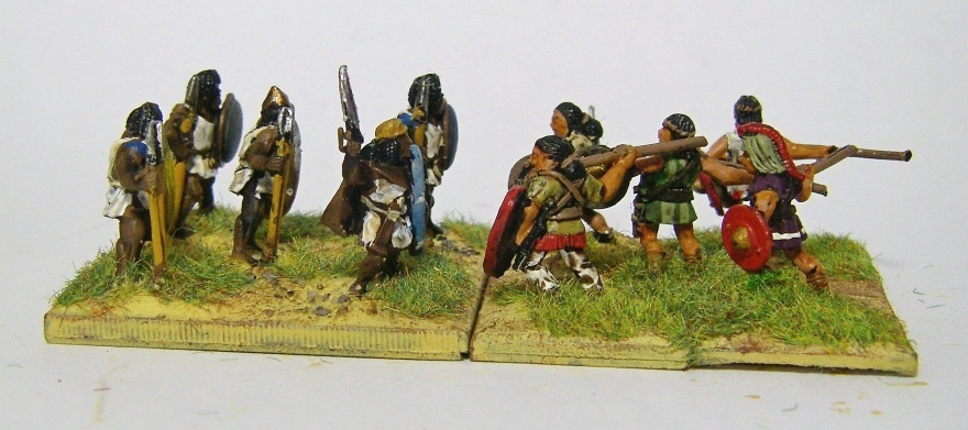 Photos of War & Empire Numidians for ADLG, 15mm