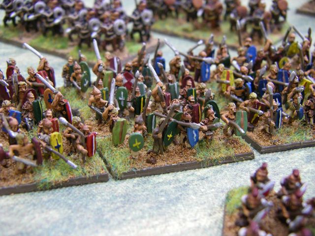 10mm Ancient British from Pendraken