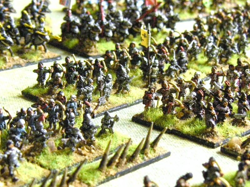 Pendraken WOTR & 100YW men at Arms, Billmen & Stakes