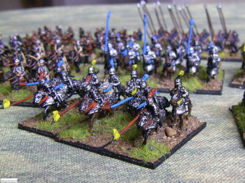 Pendraken Ordonnace French Army Knights