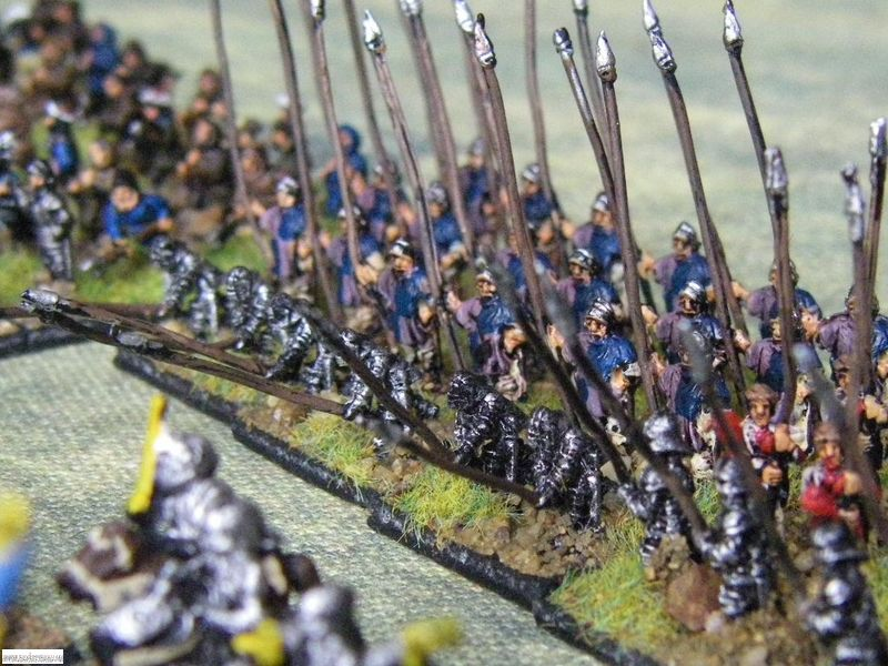 Pendraken Ordonnace French Pikemen