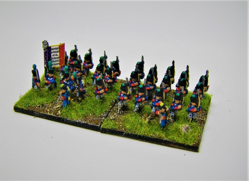 Napoleonics: Photos of 10mm Napoleonic French for Bataille Empire from Pendraken, 15mm