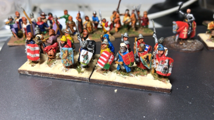 Hungarian Army Photos of Medieval Hungarians for L'Art de la Guerre From Essex Miniatures, 15mm