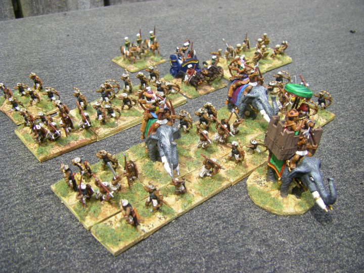 Allied Contingent, Classical Period Photos of L'Art de la Guerre Indians Museum Miniatures and Tin Soldier, 15mm