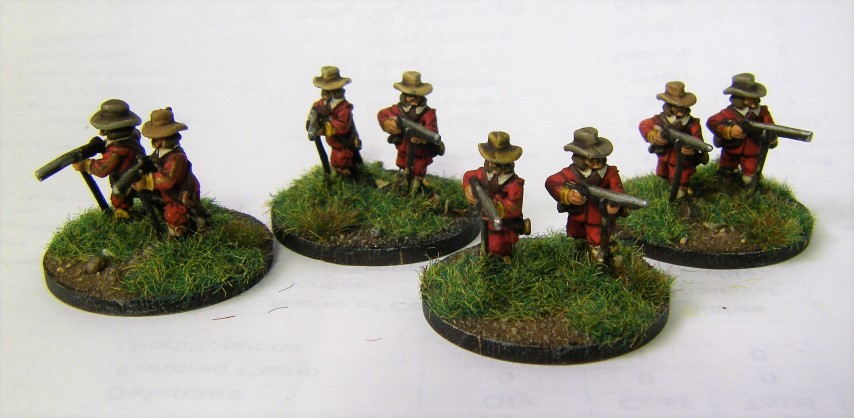 FoGR - Commanded Shotte Markers, 15mm
