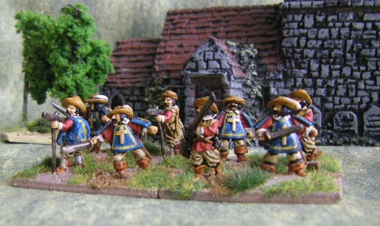 15mm Renaissance Wargame Figures
