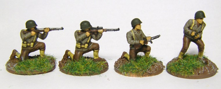 20mm PSC US Late War Infantry for WW2 Chain of Command