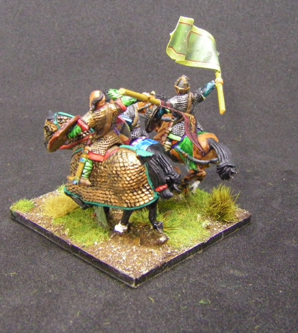 ADLG, 28mm kitbashed Arab Cavalry: Gripping Beast, Fireforge, 28mm