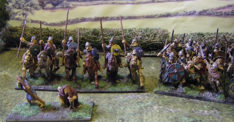 L'Art de la Guerre, Ancients: Patrician Roman and Barbarian, 25mm Gripping Beast and Old Glory