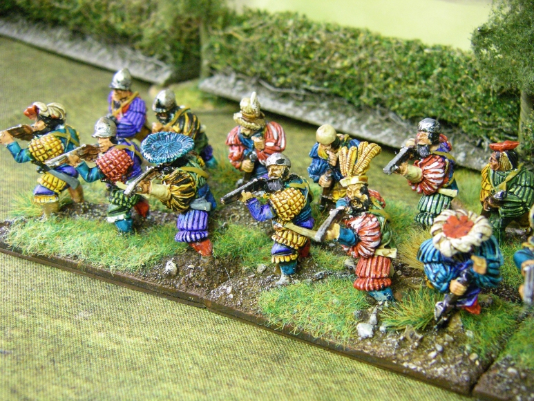Renaissance Photos of 28mm Landsnechts & Swiss for FoGR, 15mm