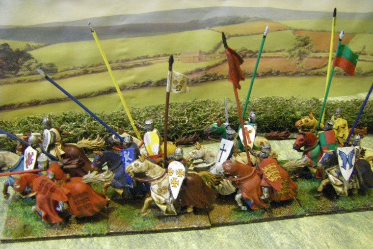 28mm 25mm L'Art de la Guerre Fireforge Knights painted