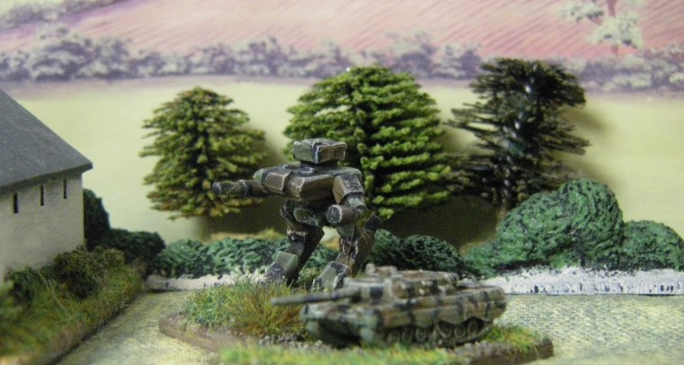 6mm, 1/300th, 1/300 Sci Fi GZG, Ground Zero Games  Heroics & Ros Leopard 2
