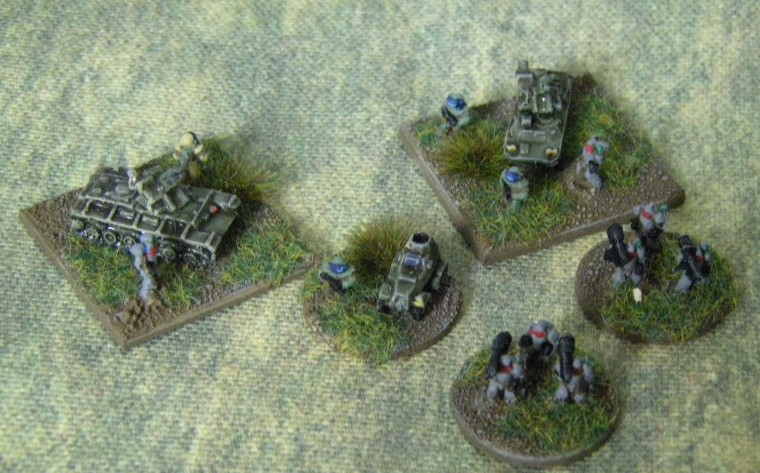 6mm, 1/300th, 1/300 Sci Fi GZG, Ground Zero Games infantry