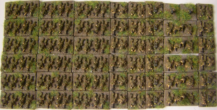 Cold War Commander, 1980s Cammo Photos of Mainforce 6mm Modern Infantry painted in 2015, 1300th