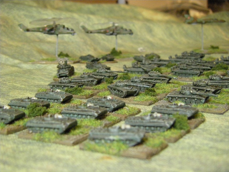1/300th Scale Modern Polish or warpac BMP1 formation for CWC
