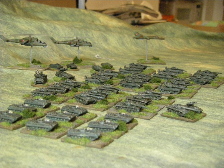 1/300th Scale Modern Polish or Warpac Army from Skytrex for CWC