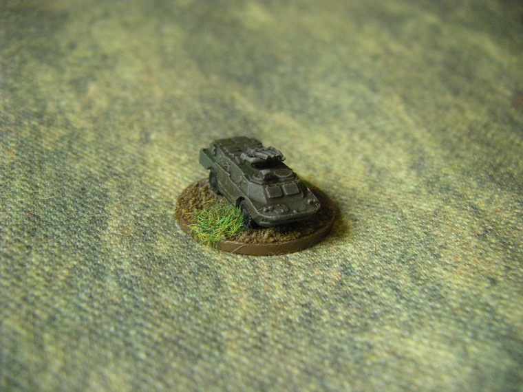 1/300th Scale Modern Polish or warpac BRDM2 from Skytrex for CWC