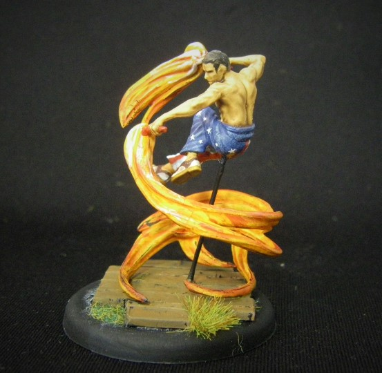 Malifaux, Carlos Vasquez, Showgirl Crew, 32mm Wyrd Games Figures