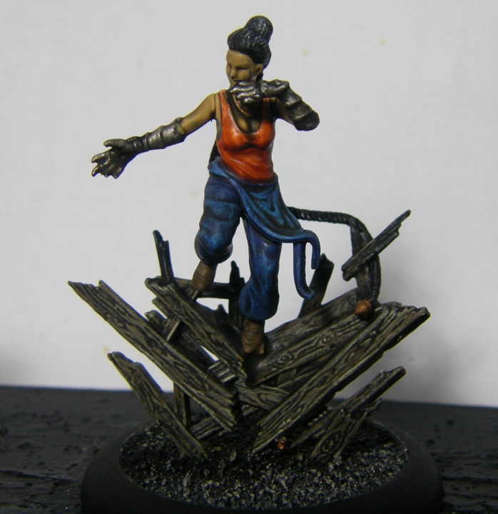 Malifaux, Mei Feng Ten Thunders Painted, 30mm