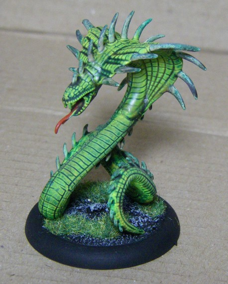 Malifaux, Marcus and Ramos Arcanist Crew Painted, Razorspine Rattler