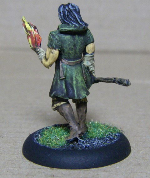 Malifaux,  Marcus metal Painted, 30mm
