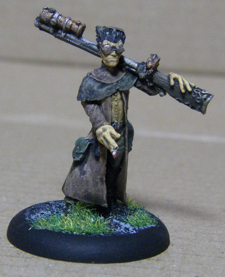 Malifaux, Marcus and Ramos Arcanist Crew Hans Painted, 30mm