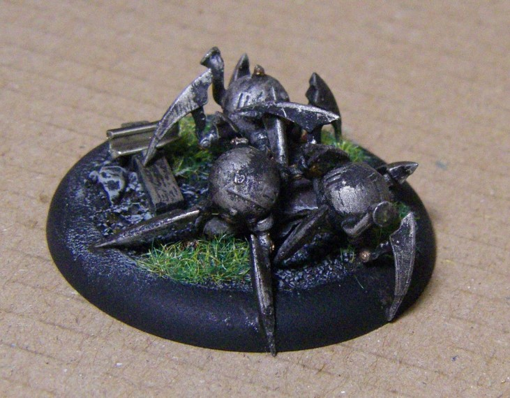 Malifaux, Steampunk Arachnids Painted, 30mm