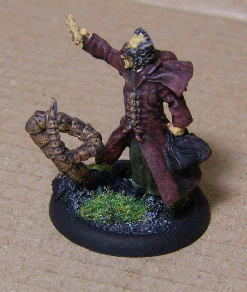 Malifaux, Metal Alternative Ramos Arcanist Painted, 30mm