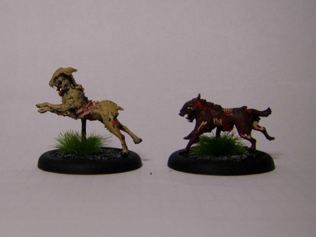 Malifaux, Canine remains
