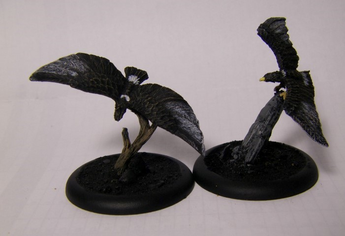 Malifaux, Raptors, 30mm