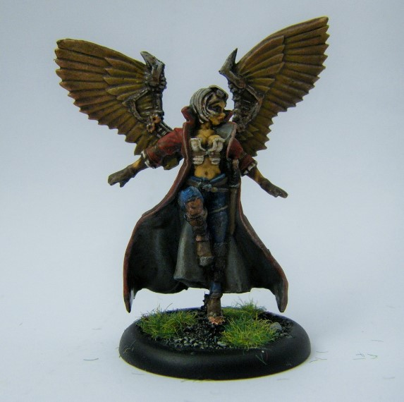 Malifaux, Arcanist Photos of Kaeris, Metal and Plastic, 32mm