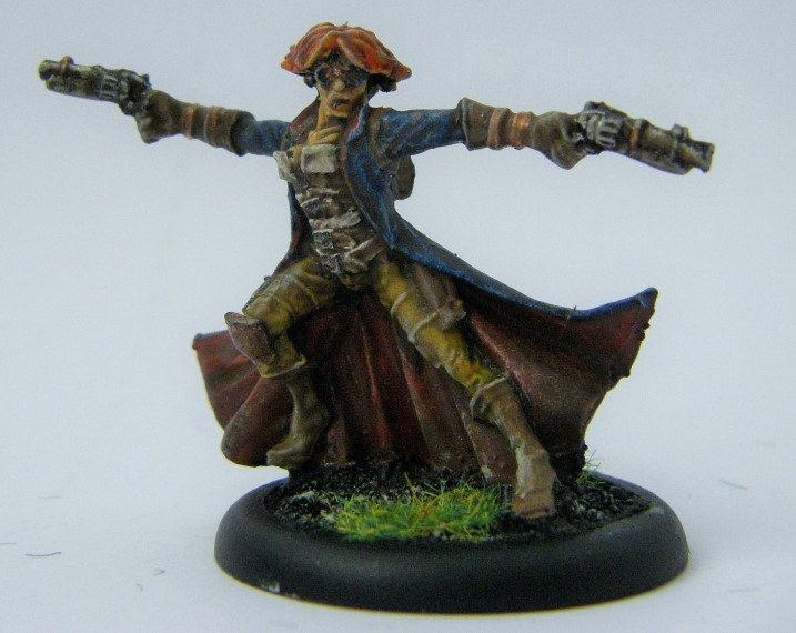 Malifaux, Arcanist Photos of Female Gunsmith, Kaeris Crews ,Metal and Plastic, 32mm