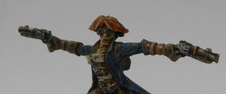 Malifaux, Arcanist Photos of Female Gunsmith Kaeris Crews ,Metal and Plastic, 32mm