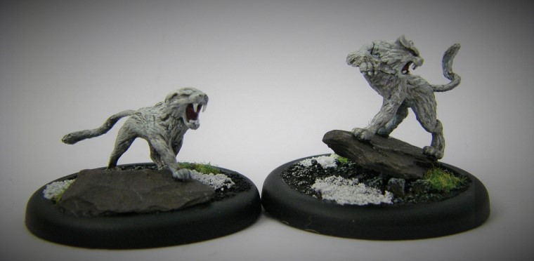 Malifaux, Arcanist Photos of Rasputina Hoarcats,Metal and Plastic, 32mm