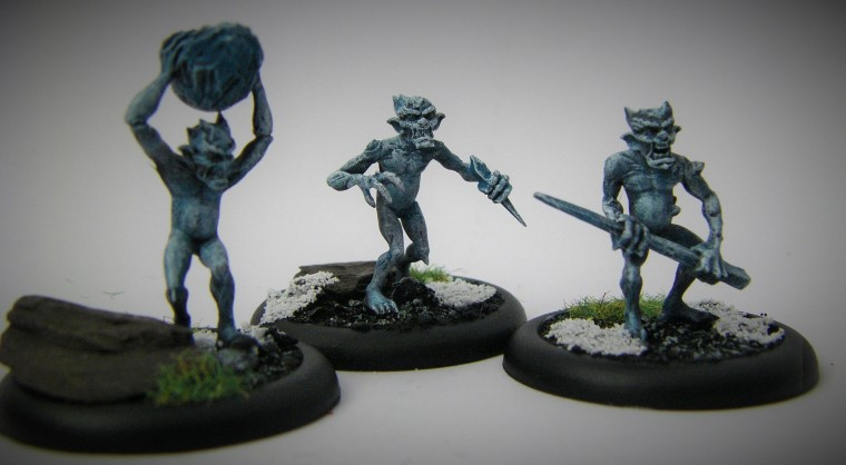 Malifaux, Arcanist Photos of Rasputina Ice Gamin Crews ,Metal and Plastic, 32mm