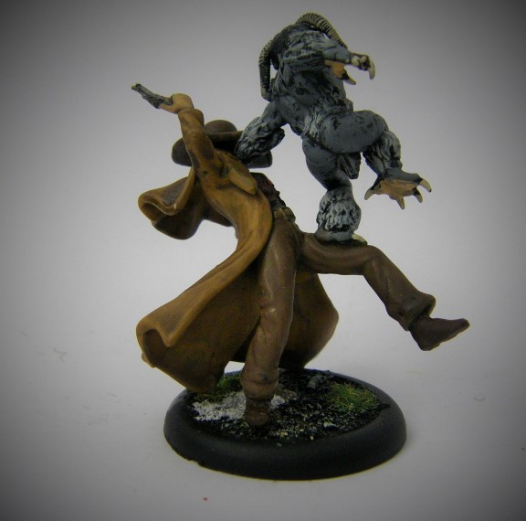 Malifaux, Arcanist Photos of Rasputina Wendigo ,Metal and Plastic, 32mm