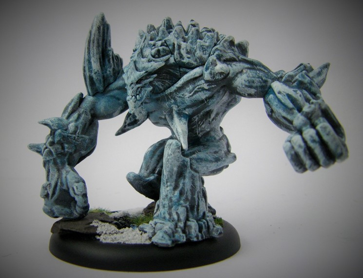 Malifaux, Arcanist Photos of Rasputina Ice Golem ,Metal and Plastic, 32mm