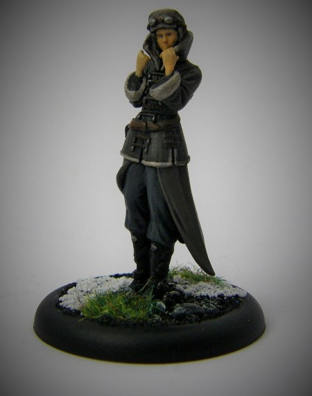 Malifaux, Arcanist Photos of Rasputina in Plastic, 32mm