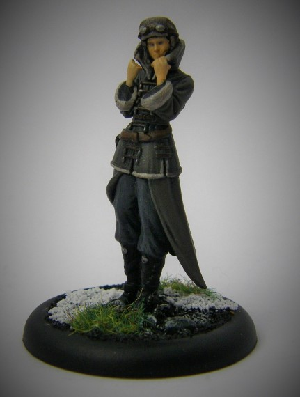 Malifaux, Arcanist Photos of Rasputina in Plasticc, 32mm