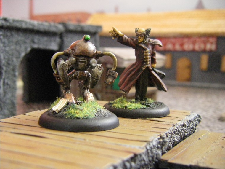 Malifaux, Steampunk Horror: Ramos, 32mm