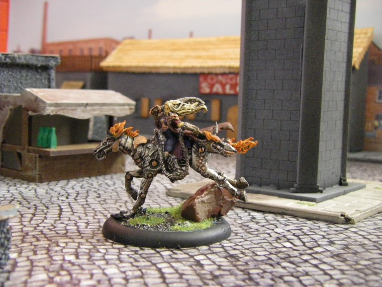 Malifaux, Steampunk Horror: Mech Rider, 32mm