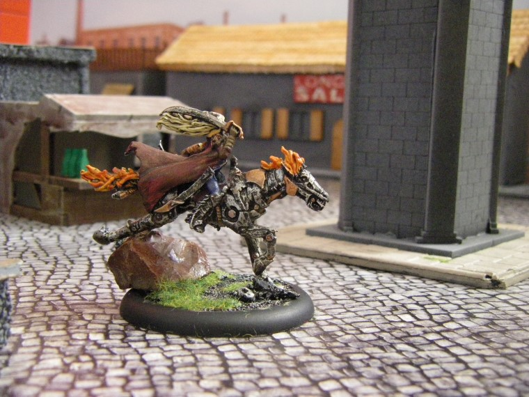Photos of Malifaux Mechanical Rider Painted, Wyrd Games