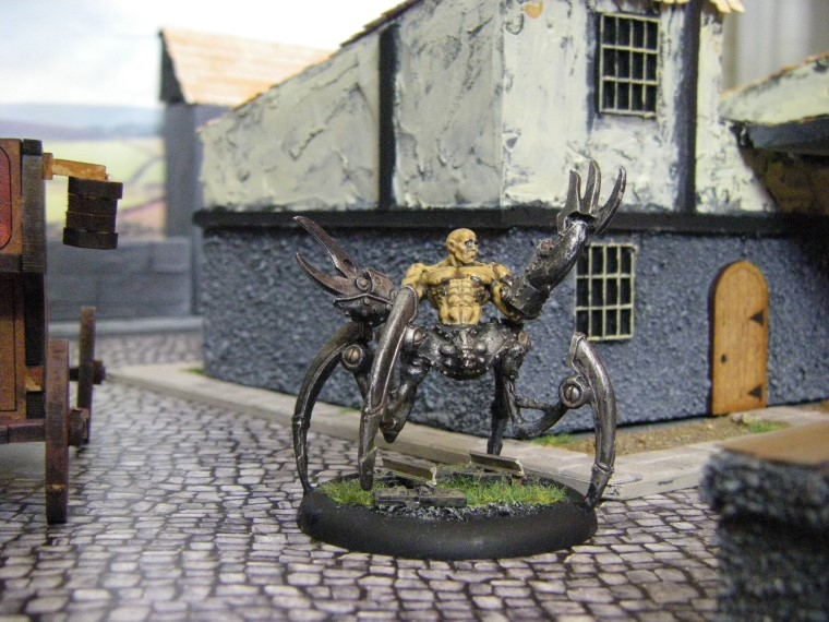 Malifaux, Steampunk Horror: Howard Langston, 32mm
