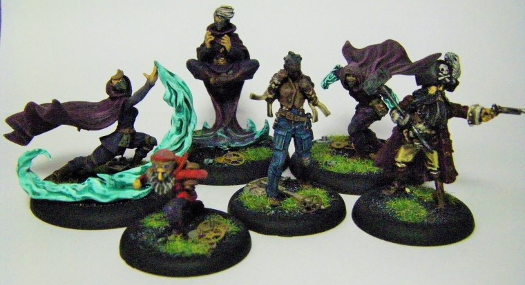 Malifaux, Arcanist factionPhotos of The Ironsides Crew Box Painted, Wyrd Games
