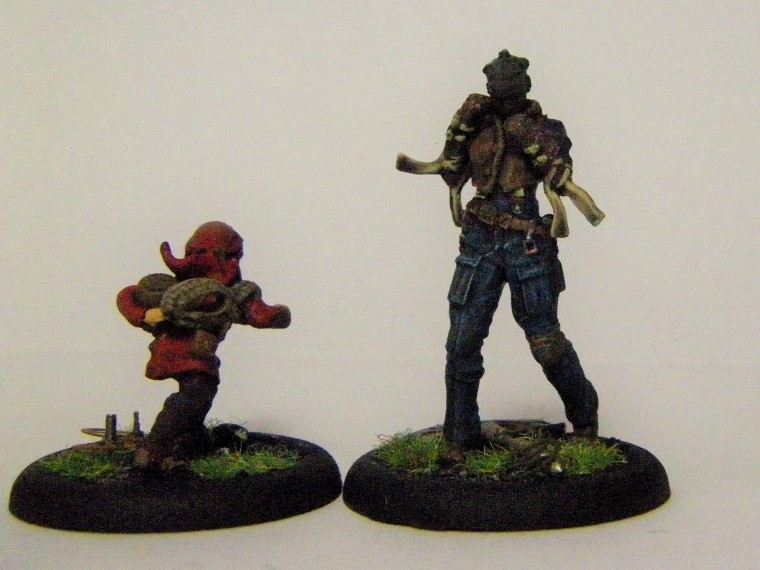 Malifaux, Arcanist faction Ironsides Painted, Wyrd Games