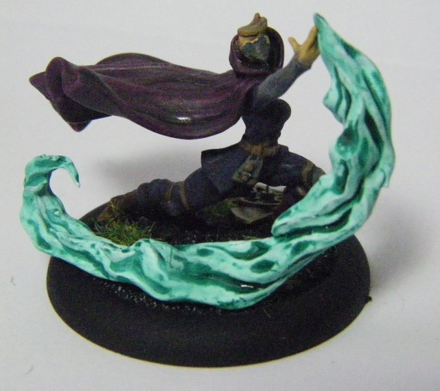 Malifaux, Arcanist faction Oxfordian Mage,  Ironsides Crew Box Painted, Wyrd Games