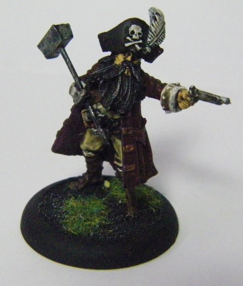Malifaux, Arcanist faction The Captain, Ironsides Crew Box Painted, Wyrd Games