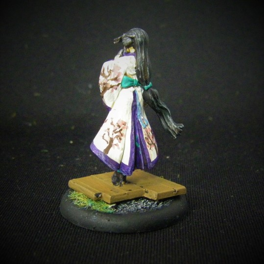 Malifaux, Oiran, Showgirl Crew, 32mm Wyrd Games Figures