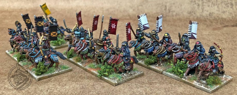 L'Art de le Guerre, Dark Ages: Samurai, 15mm